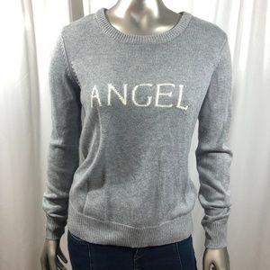 Victoria's Secret Angel Sweater in Gray